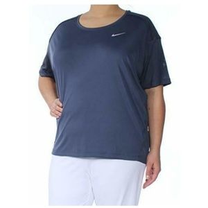 Nike Womens Dry Plus Size Dri-Fit Fitness Pullover